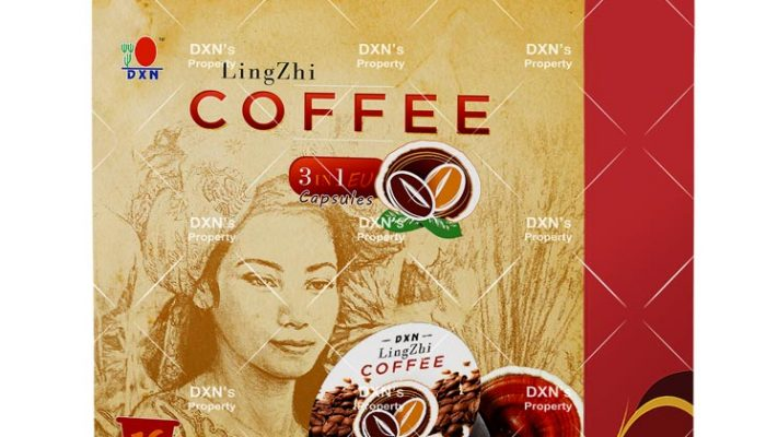 DXN Ganoderma kávé - LingZhi Coffee 3 in 1 kávé kapszula ganoderma kivonattal